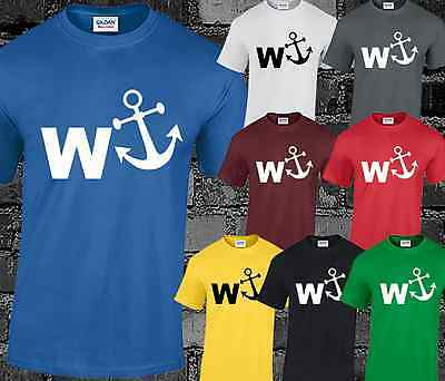 W ANCHOR Mens T Shirt Funny Joke Comedy Rude Cool Gift Present Idea • 6.99£