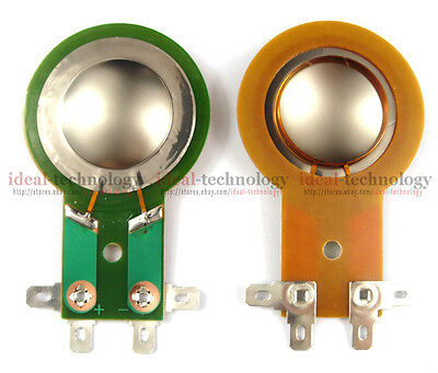 $23.74 • Buy 2PCS Replacement Mackie Diaphragm For THUMP TH15A&12A, DC10/1501  8OHM