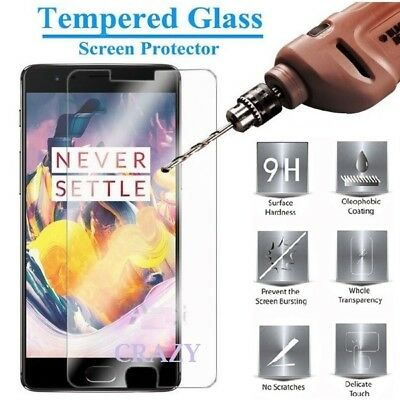 AU3.95 • Buy Tempered Glass LCD Screen Protector Guard For OnePlus Three 3 3T | Five 5