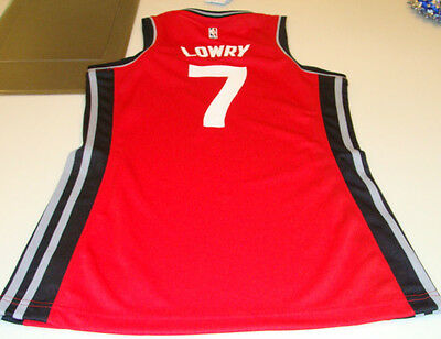 $ CDN51.99 • Buy NBA Toronto Raptors Kyle Lowry Adidas Jersey Red Ladies Women 2015-16 Large