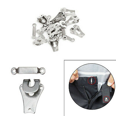£1.99 • Buy 10 Sets Of Trousers Skirts Hooks And Bars Eyes Fasteners Sew On 9mm