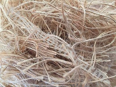 £6.45 • Buy Just Jute Nesting Material 100g,250g,500g,1kg For Canary / Finch / Budgie Birds