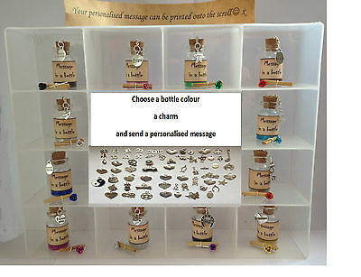 Personalised Message In A Bottle. Ideal Gift Or Card Alternative. Handmade. L 1  • 3.50£