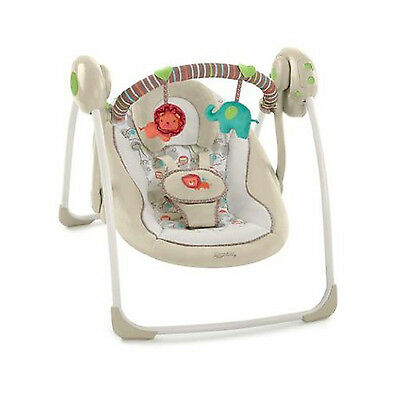£89.81 • Buy Bright Starts Baby Chair Bouncer Playful Pals Portable Comfort Harmony Swing New