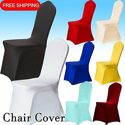 AU89.09 • Buy 20X Stretch Dining Chair Cover Full Seat Covers Spandex Banquet Wedding Party