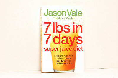 £36.55 • Buy Five Jason Vale Books 7 LBS In 7 Days, Juice Yourself Thin, Slim 4 Life.........