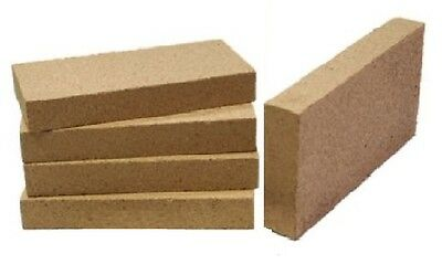 £12.96 • Buy 8 Clay Stove Fire Bricks 230mm X 114mm 9  X 4.5  Pizza Ovens Food Safe