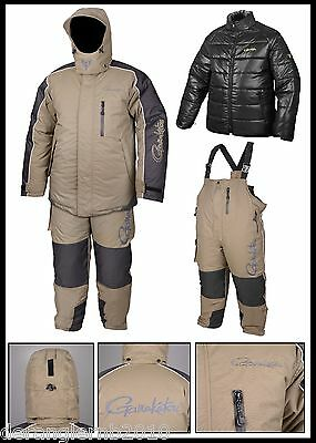 Gamakatsu Hyper Thermal Suits 3XL Luxus Thermoanzug 3tlg Atmungsaktiv 5000mm Sha Angelsport Anzüge