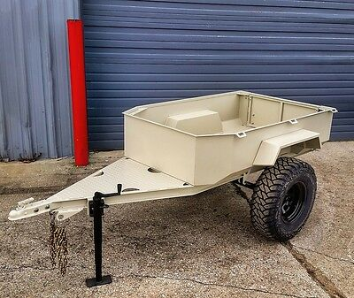 $4995 • Buy Off Road Expedition Trailer For Your Jeep Truck Or SUV Military M416 Style
