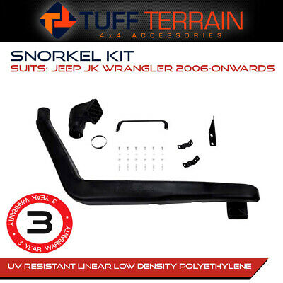 AU129.99 • Buy  Snorkel Kit Fits Jeep Jk Wrangler 2006-2012 2 Door 4 Door V6 Petrol Diesel