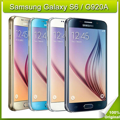 $ CDN170.90 • Buy Samsung Galaxy S6 SM-G920A  Factory Unlocked 32GB Smartphone-Gold Black White