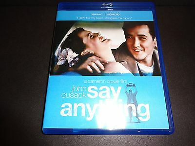 AU14.80 • Buy SAY ANYTHING-JOHN CUSACK  Surprised He Captures Heart Of Beauty IONE SKYE-BLURAY