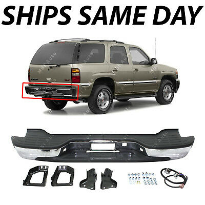 $211.06 • Buy NEW Complete Chrome Rear Bumper For 2000-2006 Chevy Tahoe Suburban GMC Yukon XL