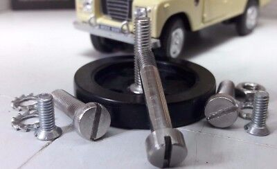 Land Rover Series Tex Magna Lite Indicator Switch Rubber Wheel & Stainless Screw • 24.07£