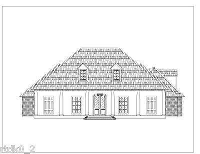 CAD DWG, And PDF Files For Custom Home House Plan 2,714 SF Blueprint Plans • 32.19£