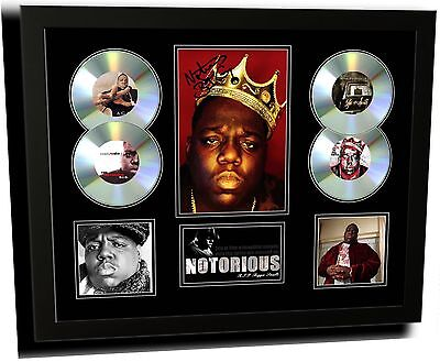 AU87.99 • Buy Notorious Biggie Smalls Signed Limited Edition Framed Memorabilia