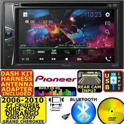 $349.99 • Buy 2004-2010 Pt Cruiser Durango Grand Cherokee Dvd Bluetooth Usb Car Stereo