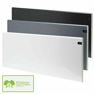 Adax Neo Modern Electric Panel Heater Convector Radiator + Timer, Wall Mounted • 120£