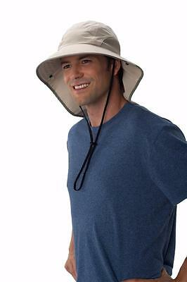 $21.88 • Buy Sun Protection Zone Extreme Outdoor Fishing Travel Wide Floppy Hat Cap UPF 50+