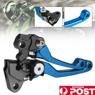 AU28.89 • Buy Blue CNC Pivot Brake Clutch Lever For Yamaha YZ125/250 2001-2007 YZ250F 01-06 AU