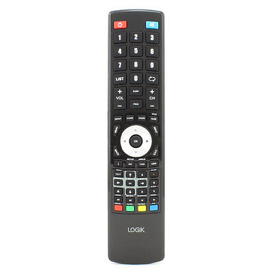 Genuine Remote For Logik LCD TV L32HE13N L19HE12 L19HE12N L19HED12 • 7.80£