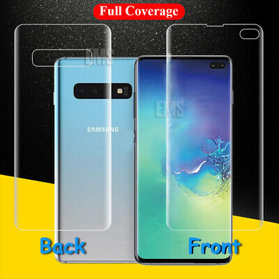 AU3.98 • Buy Full Screen Protector For Samsung Galaxy S20 Plus /Ultra S8 S9 S10 Plus Note 8 9