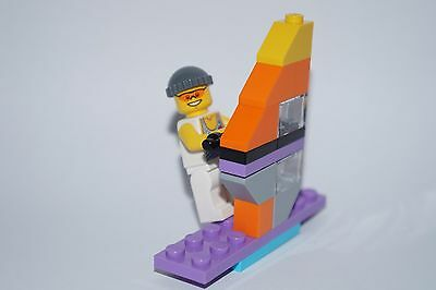 Lego Surfer - Minifigures , Surfboard - Brand New  • 3.85£