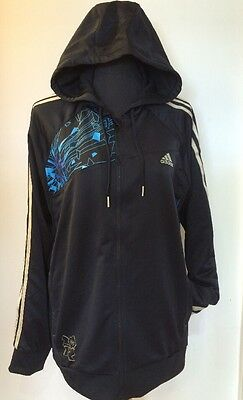 Official Adidas Team GB Olympics Black Hoodie Tracksuit Jacket 11-12 Yrs NEW(WW) • 19.99£
