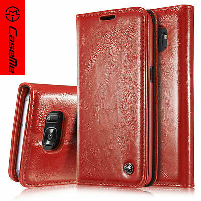 $ CDN10.81 • Buy CaseMe For Samsung Galaxy S7edge Case Stand Magnetic Leather Flip Wallet Cover