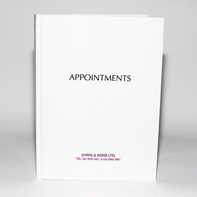 £13.89 • Buy Quirepale Appointment Book 6 Column Assistant Beauty White