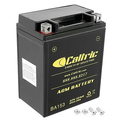 $41.85 • Buy AGM Battery For Arctic Cat 400 4X4 1998-2008 2011-2015