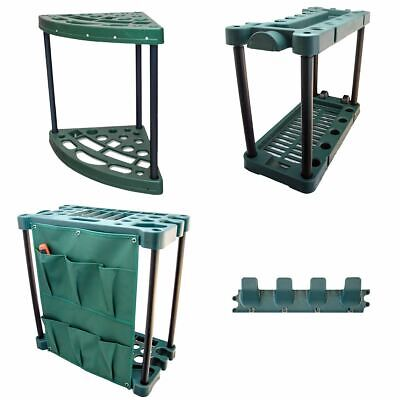 Garden Tool Trolley Rack Organiser Gardening Storage Holder Unit Caddy For Shed • 16.95£