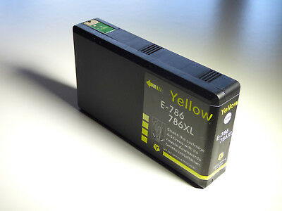 AU1016 • Buy 1 X  Compatible Ink 786XL Yellow For Epson Workforce Pro WF 4630 WF 4640