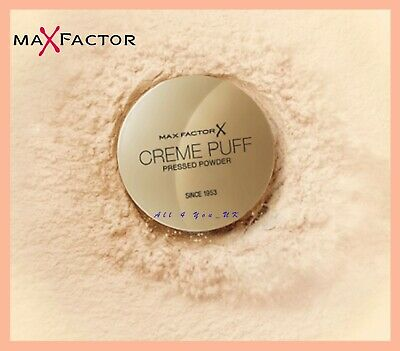 Max Factor Creme Puff Compact Powder 21g - Please Choose Your Shade • 5.65£