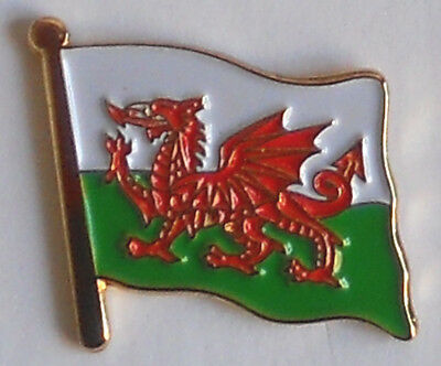 Wales Welsh Country Flag Enamel Pin Badge *NEW* • 1.90£