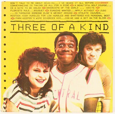 £12.95 • Buy Three Of A Kind  Lenny Henry, Tracey Ullman And David Copperfield Vinyl Record
