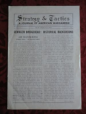 Strategy & Tactics A Journal Of American Wargaming Volume I No. 1 January 1967 • 249.96$