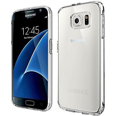 $ CDN6.99 • Buy Tpu Transparent Case And Glass Screen Protector For Samsung Galaxy S7