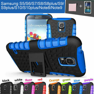 AU7.99 • Buy Case Cover For Samsung S5 S8 S8 S10 Plus S6 S7 Edge S9 Note 8 9 Shockproof Armor