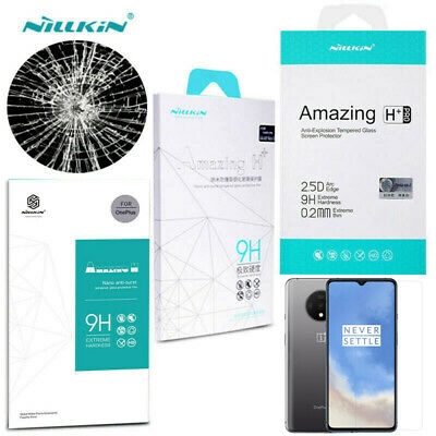 AU13.23 • Buy NILLKIN Amazing 9H/H+PRO Tempered Glass Screen Protector For OnePlus 7T 7 6T 5T
