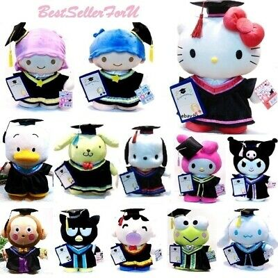 $ CDN58.63 • Buy 13 ~15 Licensed Sanrio Graduation Plush Figure Grad Gift Stuffed Animal Toy Doll