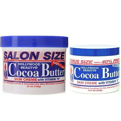 Hollywood Beauty Cocoa Butter, Skin Creme With Vitamin E • 10.59£