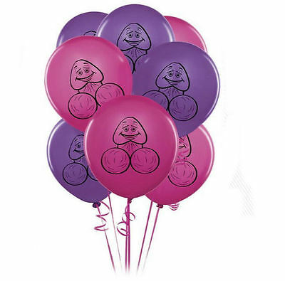 AU8.91 • Buy Hens Night Party Balloons Decoration Bachelorette Pecker X8 Penis Willy Good Fun