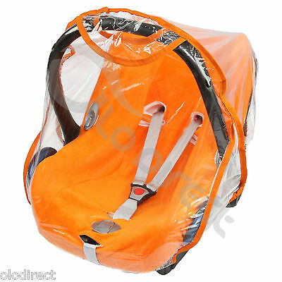£6.99 • Buy Quality Car Seat Rain Cover 0/11kg Carseat Raincover New -  TOP QUALITY (orange)