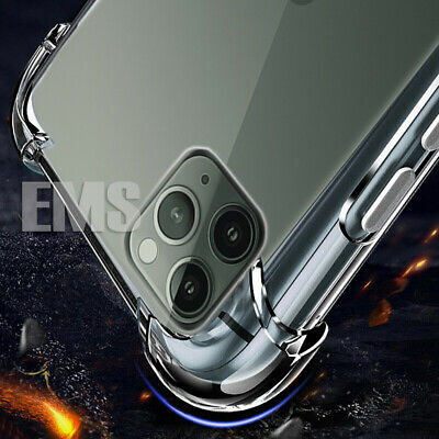 AU4.95 • Buy Shockproof Clear Slim Case Cover For Apple IPhone X XS Max XR 6 6S 7 8 Plus