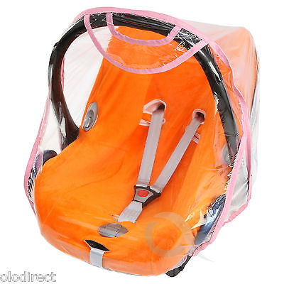 £6.99 • Buy Quality Car Seat Rain Cover 0/11kg Carseat Raincover New TOP QUALITY (baby Pink)