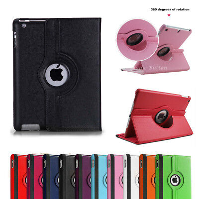AU10.99 • Buy For IPad 2 3 4 5 6 7 8 Air 2 3 4 Pro Rotate Case Smart Leather Shockproof Cover