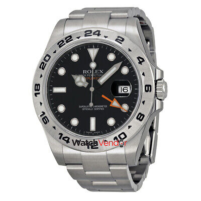 $ CDN16503.99 • Buy Rolex Explorer II Stainless Steel Rolex Oyster Automatic Mens Watch 216570BKSO