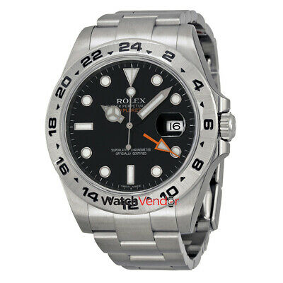 $ CDN15467.99 • Buy Rolex Explorer II Stainless Steel Rolex Oyster Automatic Mens Watch 216570BKSO