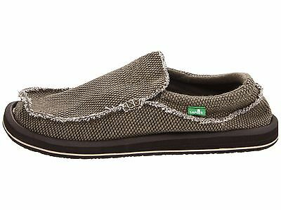 Sanuk Chiba Brown  Men's Slip On Sidewalk Surfers SMF1047 • 45.13£